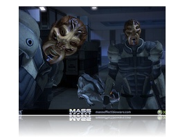 "Promotional Mass Effect screenshot, ""Bring Down the Sky"""