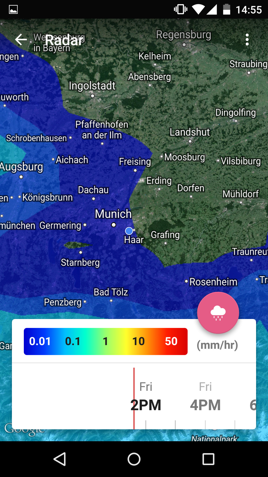 Review: Weather Timeline (Android) · Carlo Zottmann