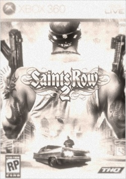 Saints Row 2 box art, ca. 1978